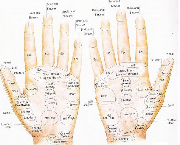 12 steps how to apply reflexology to the hand  with pictures Outside of Foot Pain Diagram Bottom of Foot Pain Diagram